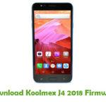 Koolmex J4 2018 Firmware