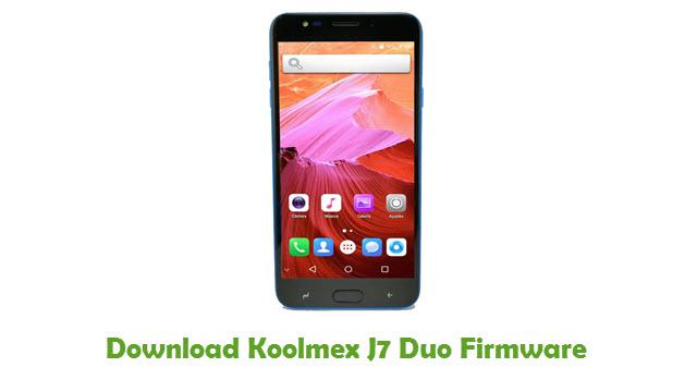 Koolmex J7 Duo Stock ROM