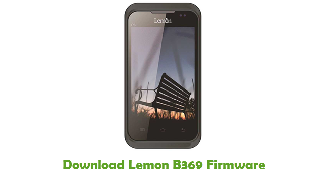Download Lemon B369 Firmware