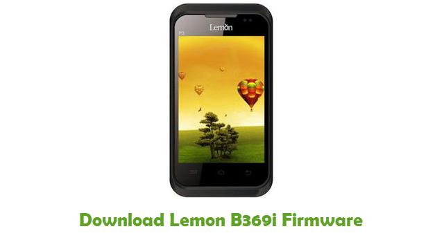Download Lemon B369i Firmware