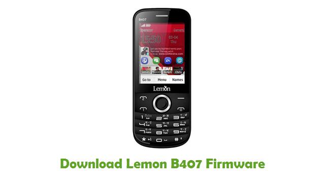 Download Lemon B407 Firmware