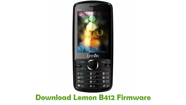 Download Lemon B412 Firmware