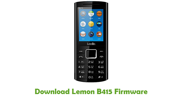 Download Lemon B415 Firmware