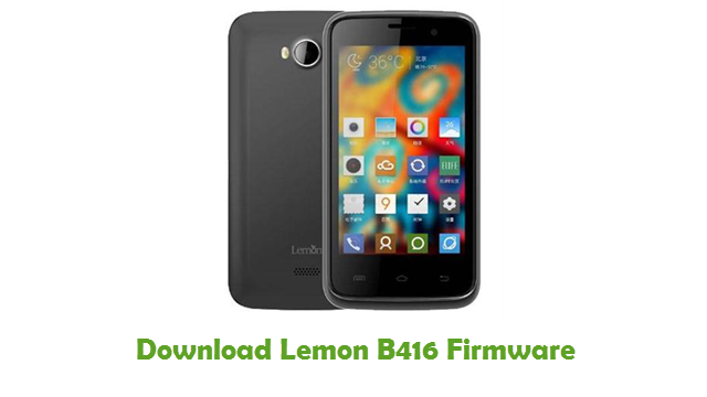 Download Lemon B416 Firmware