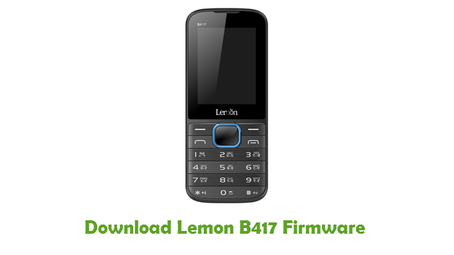 Download Lemon B417 Firmware