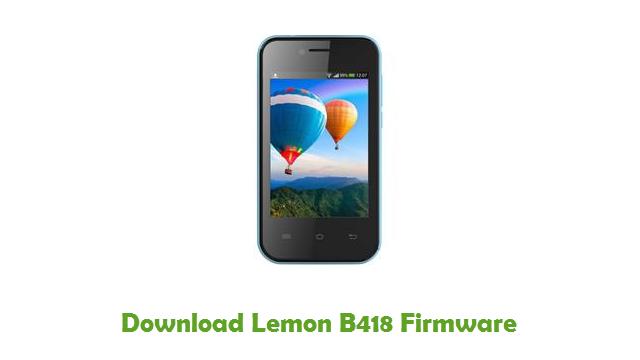 Download Lemon B418 Firmware