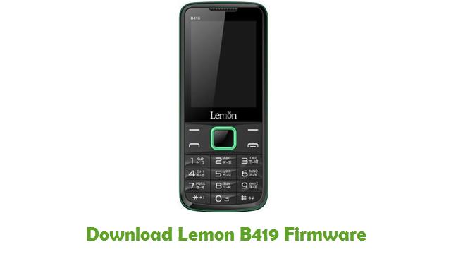 Download Lemon B419 Firmware