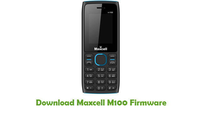 Maxcell M100 Stock ROM