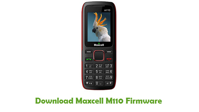 Maxcell M110 Stock ROM