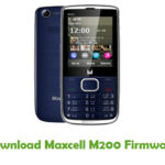 Maxcell M200 Firmware