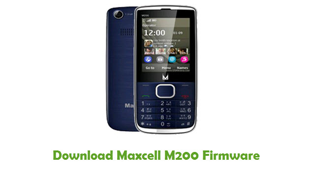 Download Maxcell M200 Stock ROM