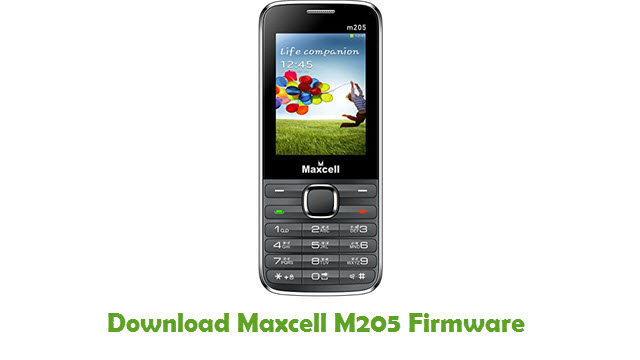 Download Maxcell M205 Stock ROM