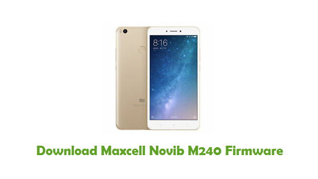 Download Maxcell Novib M240 Stock ROM