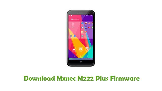 Download Mxnec M222 Plus Stock ROM