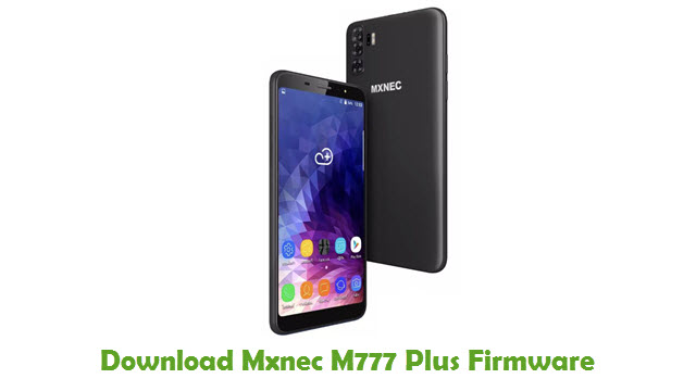 Download Mxnec M777 Plus Stock ROM