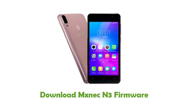 Download Mxnec N3 Stock ROM