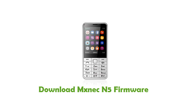 Download Mxnec N5 Stock ROM