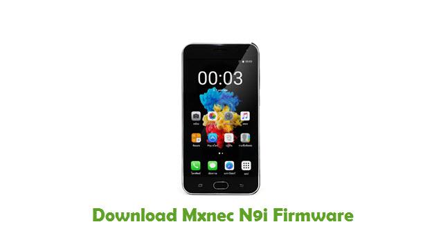 Mxnec N9i Stock ROM