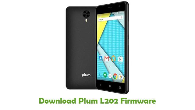 Plum L202 Stock ROM