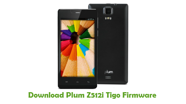 Plum Z512i Tigo Stock ROM
