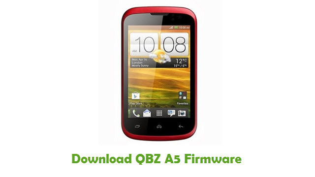 Download QBZ A5 Stock ROM