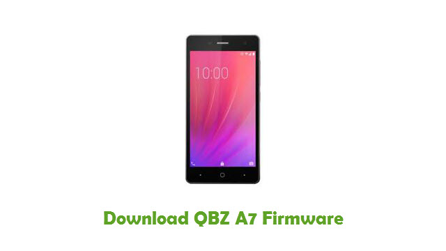 Download QBZ A7 Stock ROM