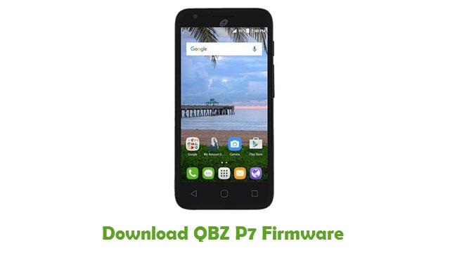 Download QBZ P7 Stock ROM