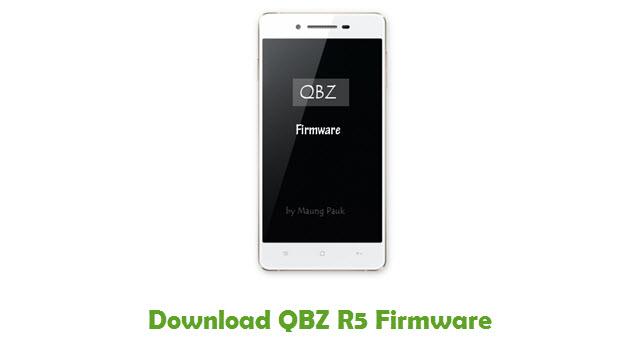 Download QBZ R5 Stock ROM