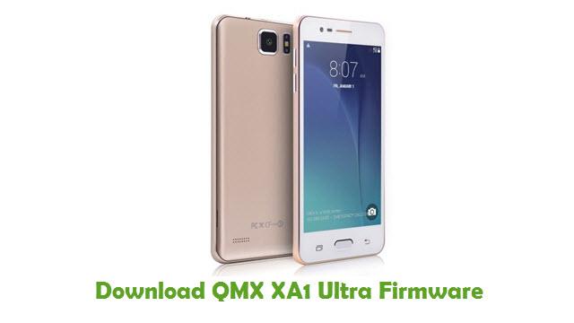 QMX XA1 Ultra Stock ROM