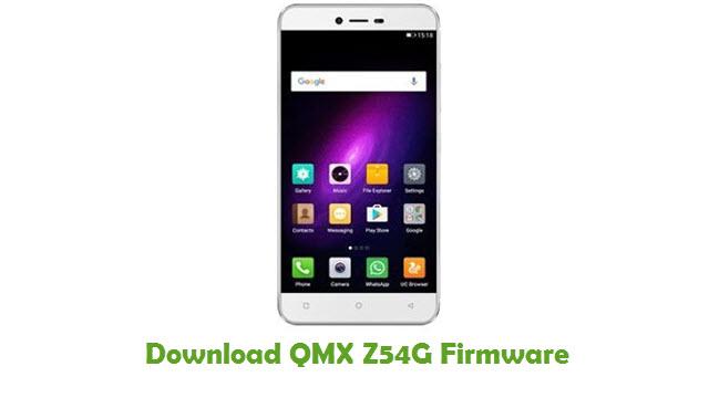Download QMX Z54G Stock ROM