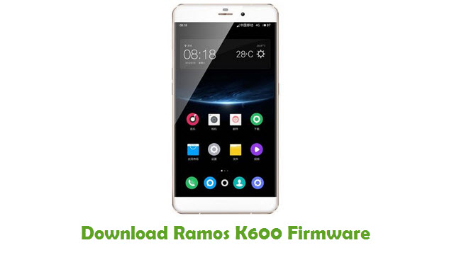Download Ramos K600 Stock ROM