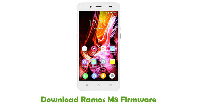 Download Ramos M8 Stock ROM
