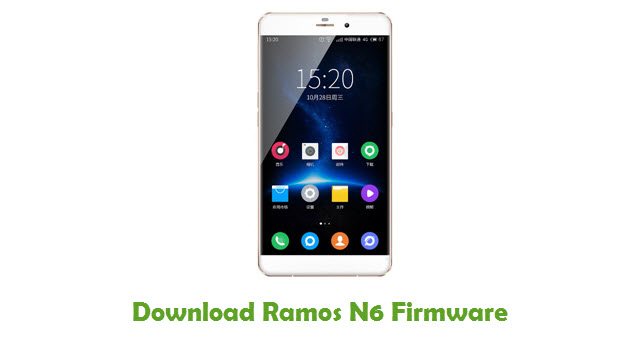 Download Ramos N6 Stock ROM