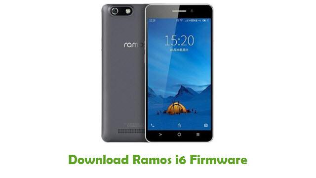 Ramos i6 Stock ROM