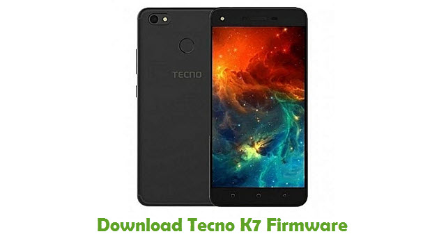 Download Tecno K7 Firmware