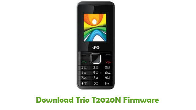 Download Trio T2020N Stock ROM