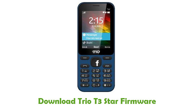 Trio T3 Star Stock ROM