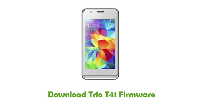 Trio T41 Stock ROM