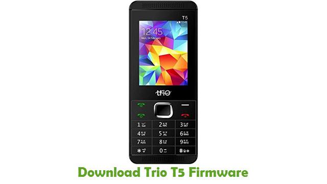 Download Trio T5 Stock ROM