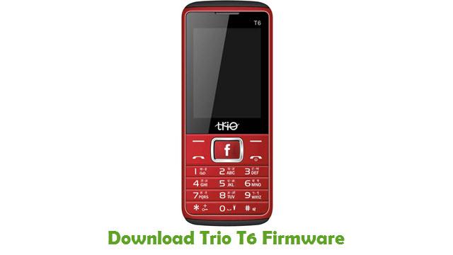 Download Trio T6 Stock ROM
