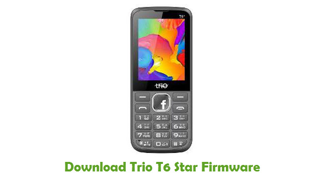 Trio T6 Star Stock ROM