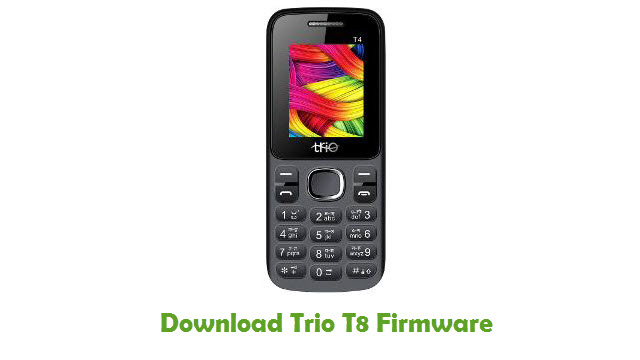 Download Trio T8 Stock ROM