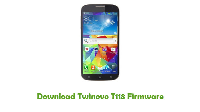 Download Twinovo T118 Stock ROM