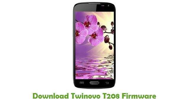 Twinovo T208 Stock ROM