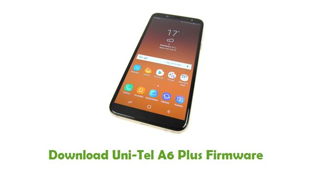 Download Uni-Tel A6 Plus Firmware