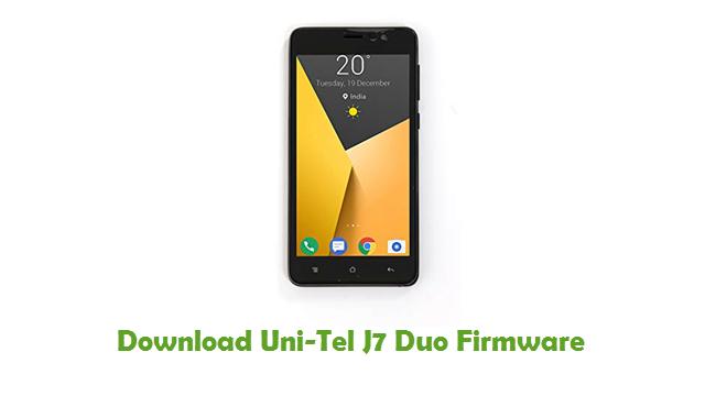 Download Uni-Tel J7 Duo Firmware