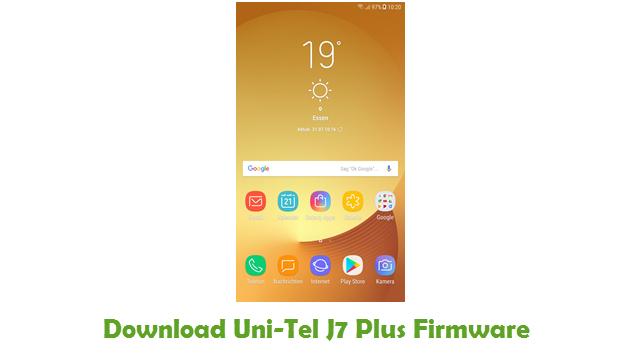 Download Uni-Tel J7 Plus Firmware