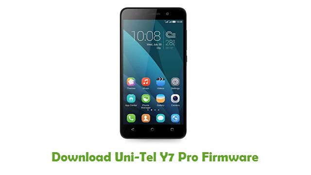 Download Uni-Tel Y7 Pro Firmware