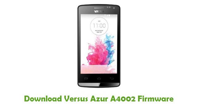 Download Versus Azur A4002 Stock ROM