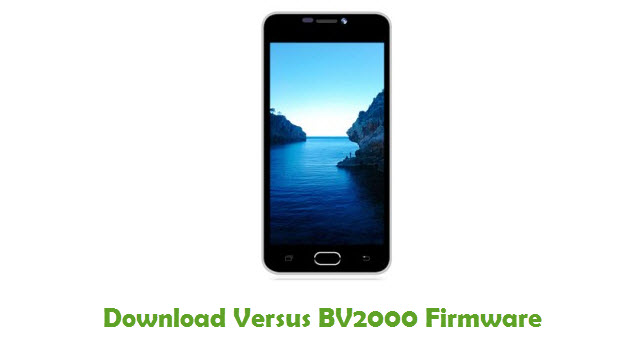 Download Versus BV2000 Stock ROM